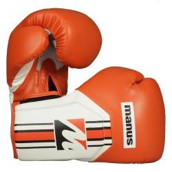 Manus Cool Boxhandschuhe Orange Weiss
