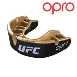 Opro Gold Zahnschutz schwarz gold