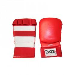 Dax Faustschutz Kumite 3 Leder Rot