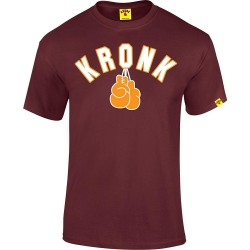 Kronk Gloves T-Shirt Maroon