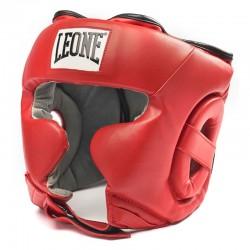 Leone 1947 Kopfschutz Training rot