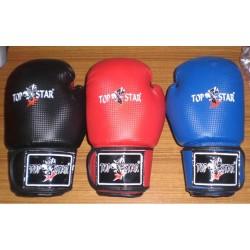 Topstar Boxhandschuhe Schwarz Rot
