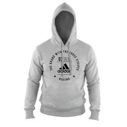 Adidas Boxing Community Hoody Grey Black