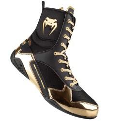 Venum Elite Boxschuhe Schwarz Gold