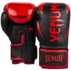Venum Hammer Pro Boxing Velcro Black Red