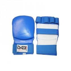 Dax Faustschutz Kumite 3 Leder Blau