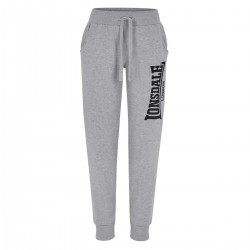 Lonsdale Thurso Damen Jogging Pants Marl Grey