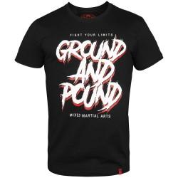 Venum Ground and Pound T-Shirt Black