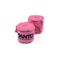 Manto Punch Boxbandagen 4m Pink