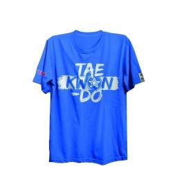Top Ten ITF Taekwon-Do T-Shirt Blau