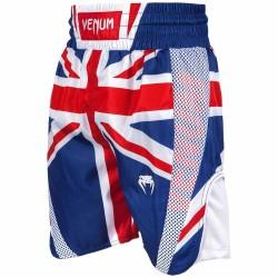 Venum Elite Boxing Shorts UK Blue Red-White