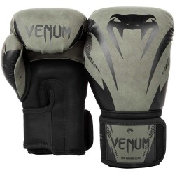 Venum Impact Boxing Gloves Khaki Black