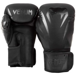 Venum Impact Boxing Gloves Black Black