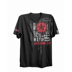 Top Ten ITF Taekwon-Do Way Of Life T-Shirt Schwarz