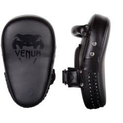 Venum Elite Small Kick Pads Black Black