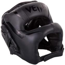 Venum Elite Iron Headgear Black Black