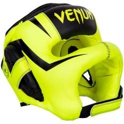 Venum Elite Iron Headgear NeoYellow