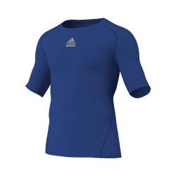Abverkauf Sonderposten Adidas TechFit CS SS Blau