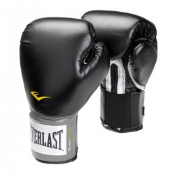 Everlast Pro Style Training Glove Velcro Black 2100