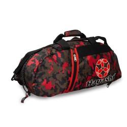 Hayashi Rucksack Tasche Camo Rot 55cm