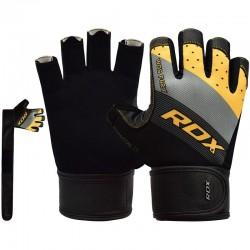 RDX Gym Handschuh F42 gelb