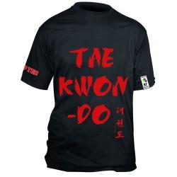 Top Ten Taekwon-Do T-Shirt Schwarz Rot