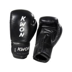 Kwon Ergo Champ Boxhandschuhe 10oz Schwarz