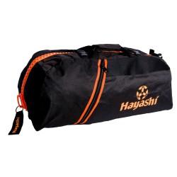 Hayashi Rucksack Tasche Schwarz Orange 55cm