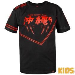 Venum Okinawa 2.0 Kids T-shirt Black Red
