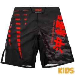 Venum Okinawa 2.0 Kids Fightshorts Black Red