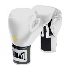 Everlast Pro Style Training Glove Velcro White 2100