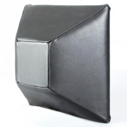 Phoenix Wandschlagpolster Pyramide Leder 50x50x20cm