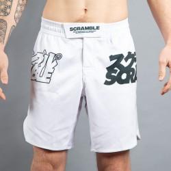Scramble Core Shorts weiss
