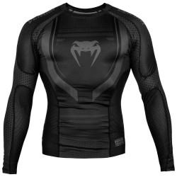 Venum Technical 2.0 Rashguard LS Black Black