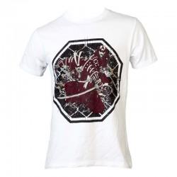 Top Ten Samurai T-Shirt Weiss