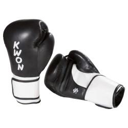Kwon Super Champ Boxhandschuhe Schwarz Weiss