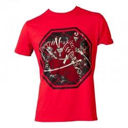 Top Ten Samurai T-Shirt Rot