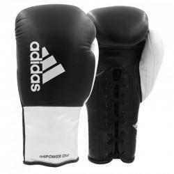 Adidas AdiPower 500 Pro Boxhandschuhe Black White