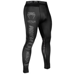 Venum Logos Thights black grey