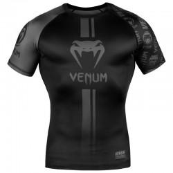 Venum Logos Rashguard SS black black