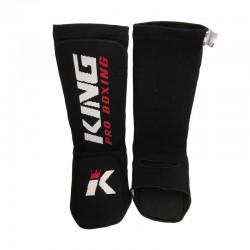 King Pro Boxing Shinguard AMSG Pro Black