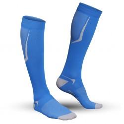 Strammer Max Men Kompression Socken Sports Line Blau