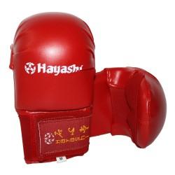 Hayashi Tsuki Karate Training Faustschützer Rot