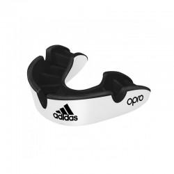 Adidas Opro Gen4 Silver Edition Zahnschutz White Black Junior