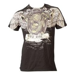 Top Ten Death T-Shirt Schwarz Gold