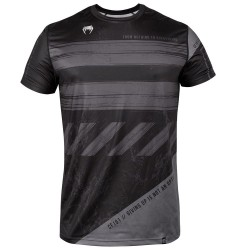 Venum Amrap Dry Tech T-Shirt Black Grey