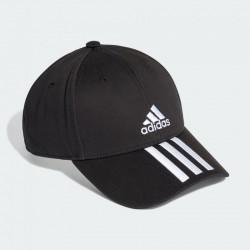 Adidas T19 Baseball Cap 3S Black White