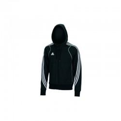Abverkauf Adidas T8 Team Hoody Jugend Black