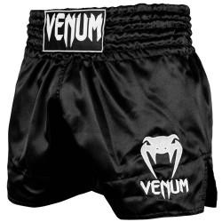 Venum Muay Thai Shorts Classic Black White