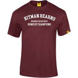 Kronk Boxing Hitman Hearns T-Shirt Maroon